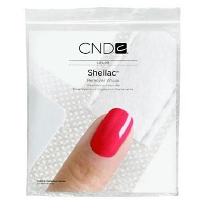CND Shellac Remover Wraps, 250 шт.- замотка для удаления Shellac - фото 4425