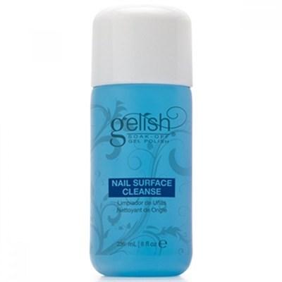 GELISH Nail Surface Cleanser, 240 мл. - жидкость для снятия липкого слоя - фото 6653
