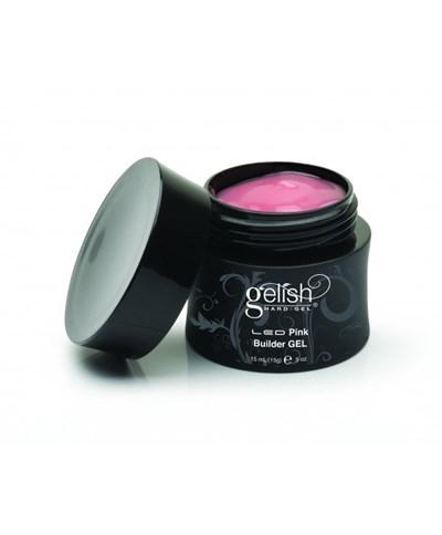 GELISH Hard Gel - Pink Builder Gel, 50 мл. - розовый конструирующий гель - фото 7385