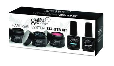 GELISH Hard Gel Starter Kit - стартовый набор для гелевого моделирования - фото 7395