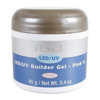 IBD LED/UV Builder Gel Pink III, 95 г. – холодный розовый камуфлирующий гель для наращивания ногтей