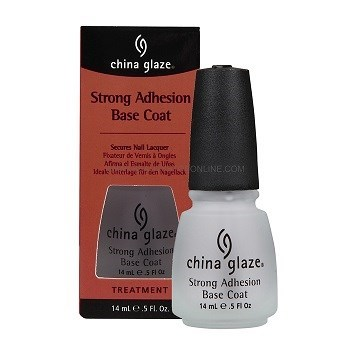 China Glaze Strong Adhesion Base Coat, 14 мл. - Базовое закрепляющее покрытие - фото 7598