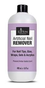 EzFlow Artificial Nail Remover, 480 мл. - средство для удаления искусственных ногтей - фото 7644