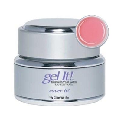EzFlow COVER IT 14гр.- камуфлирующий насыщенный розовый конструирующий гель - фото 7660