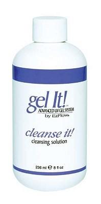 EzFlow Cleanse it!, 236 мл. - жидкость для удаления липкого слоя с гелей и очистки