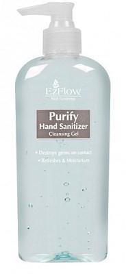 EzFlow Purify Hand Sanitizer, 236 мл. - дезинфицирующий гель для рук мастера и клиента - фото 7678