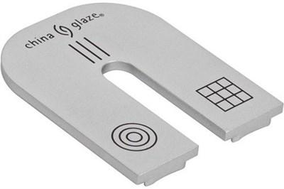 China Glaze Magnet - магнит на три дизайна: линии, сетка, круги - фото 8219