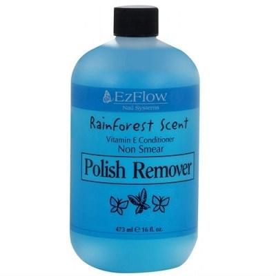 Жидкость для снятия лака EzFlow Rainforest Scent Polish Remover, 473 мл. запах свежего леса - фото 8932
