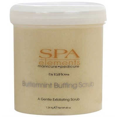 EzFlow Buttermint Buffing Scrub, 1240мл - мягкий отшелушивающий скраб с мятой - фото 8989