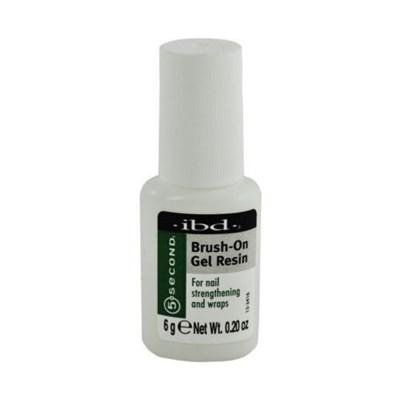 IBD 5sec Brush-On Gel Resin, 6гр- клей на основе смолы с кисточкой для типсов - фото 9030