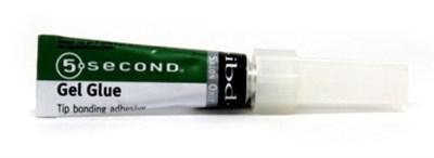 IBD 5sec Gel Glue, 4гр. - желеобразный клей для типсов - фото 9032