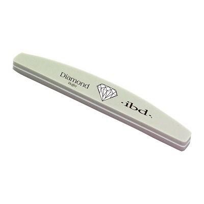 """IBD File Diamond 220/280 - пилка """"Алмаз"""" полировщик для искуственных ногтей - фото 9045"""