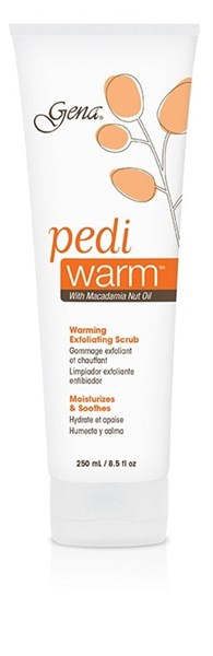 30834 Тёплый скраб Gena Pedi Warm Foot Scrub, 250 мл. для обработки кожи ног