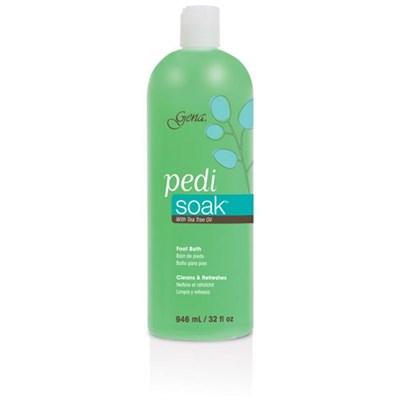 30843 Gena Pedi Soak Bath, 946 мл. - очищающая ванночка для педикюра с маслом чайного дерева