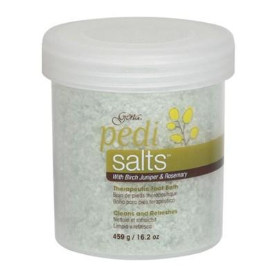 30846 Морская соль Gena Pedi Salts Therapy, 453 гр. для педикюрных ванн