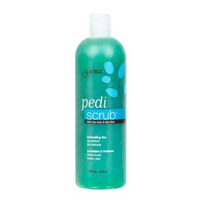 30848 Gena Pedi Scrub Gel, 473 мл. - скраб для педикюра с экстрактами морских водорослей