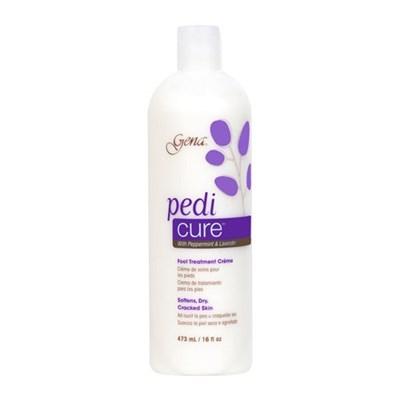 30855 Gena Pedi Cure Cream, 473 мл. - крем с экстрактом лаванды для ухода за сухой кожей ног