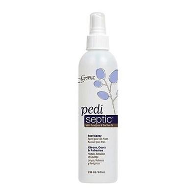 Gena Pedi Septic Spray, 236мл. - спрей для ног с ментолом и маслом чайного дерева - фото 9165