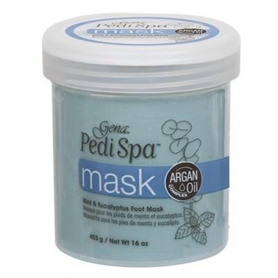 Gena Pedi Spa Mask, 453 гр. - увлажняющая маска для ног с морскими экстрактами и алоэ Вера