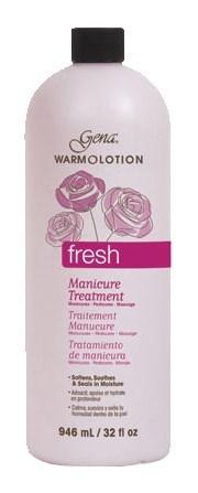 Лосьон для горячего маникюра Gena Fresh Scent Warm O Lotion, 946 мл. с ароматом свежести