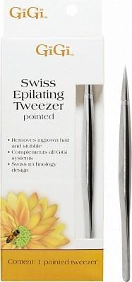Gigi Epilating Tweezer (pointed 0900) -Пинцет для эпиляции, заостренный - фото 9504