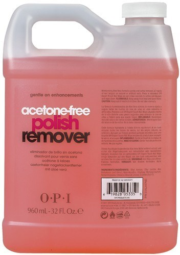AL447 OPI Non-Acetone Polish, 960 мл. - жидкость для снятия лака без ацетона