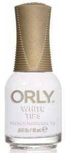 "Orly White Tips, 18 мл.- лак для ногтей ""Белый кончик"""
