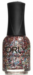 "Orly Glitterbomb, 18 мл.-  лак для ногтей ""Блестящая бомба"""