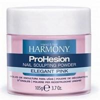 Розовая акриловая пудра HARMONY ProHesion Elegant Pink Powder, 105 гр. полупрозрачная для наращивания ногтей