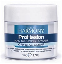 Прозрачная акриловая пудра HARMONY ProHesion Crystal Clear Powder, 105 гр. для наращивания ногтей акрилом