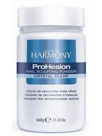 Прозрачная акриловая пудра HARMONY ProHesion Crystal Clear Powder, 660 гр. для наращивания ногтей
