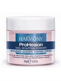 HARMONY Studio Cover Warm Pink Powder, 28г.- Камуфлирующая насыщенно розовая акриловая пудра