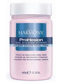 HARMONY Studio Cover Cool Pink Powder, 660г.- Камуфлирующая светло-розовая акриловая пудра