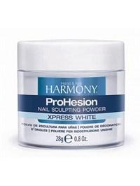 HARMONY ProHesion Xpress White Powder, 28г.- Быстро отвердеваемая ярко-белая акриловая пудра