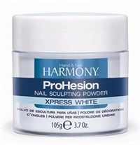 HARMONY ProHesion Xpress White Powder, 105г.- Быстро отвердеваемая ярко-белая акриловая пудра