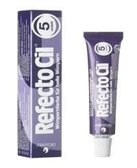 RefectoCil Eyelash & Eyebrow Color 5.0 violet, 15 мл. - фиолетовая краска для бровей и ресниц