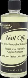 SuperNail Nail Off, 118мл. - средство для удаления искусственных ногтей
