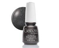 "Gelaze Gel-n-Base Polish Black Diamond, 9.76 мл.- гелевый лак ""Черный бриллиант"""