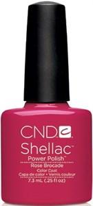 "CND Shellac Rose Brocade, 7,3 мл. - гель лак Шеллак ""Розовый бархат"""