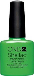 "CND Shellac Lush Tropics, 7,3 мл. - гель лак Шеллак ""Пышные тропики"""