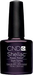 "CND Shellac Dark Dahlia, 7,3 мл. - гель лак Шеллак ""Тёмный георгин"""