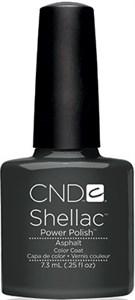 "CND Shellac Asphalt, 7,3 мл. - гель лак Шеллак ""Асфальт"""
