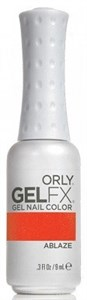 "ORLY GEL FX Ablaze, 9ml.- гель лак Orly  ""Пылающий"""