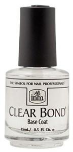INM Clear Bond Coat, 15 мл. - прозрачная база под лак