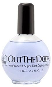 INM Out The Door Topcoat, 73 мл. - cупербыстрая сушка топ-закрепитель для лака