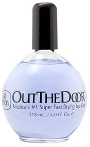 INM Out The Door Top coat, 118 мл. - супербыстрая сушка-закрепитель для лака