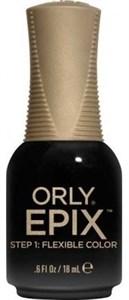 """Orly EPIX Flexible Color The Blacklist, 15мл.- лаковое цветное покрытие """"Черный список"""""""
