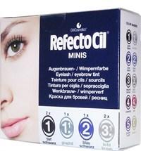 Refectocil Minis Lash & Brow Tint Kit - пробный набор красок для ресниц и бровей