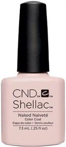 "CND Shellac Naked Naivete, 7,3 мл. - гель лак Шеллак ""Святая простота"""