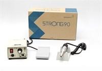 Strong 90/120 прибор для маникюра и педикюра Стронг 90 (с педалью в коробке)